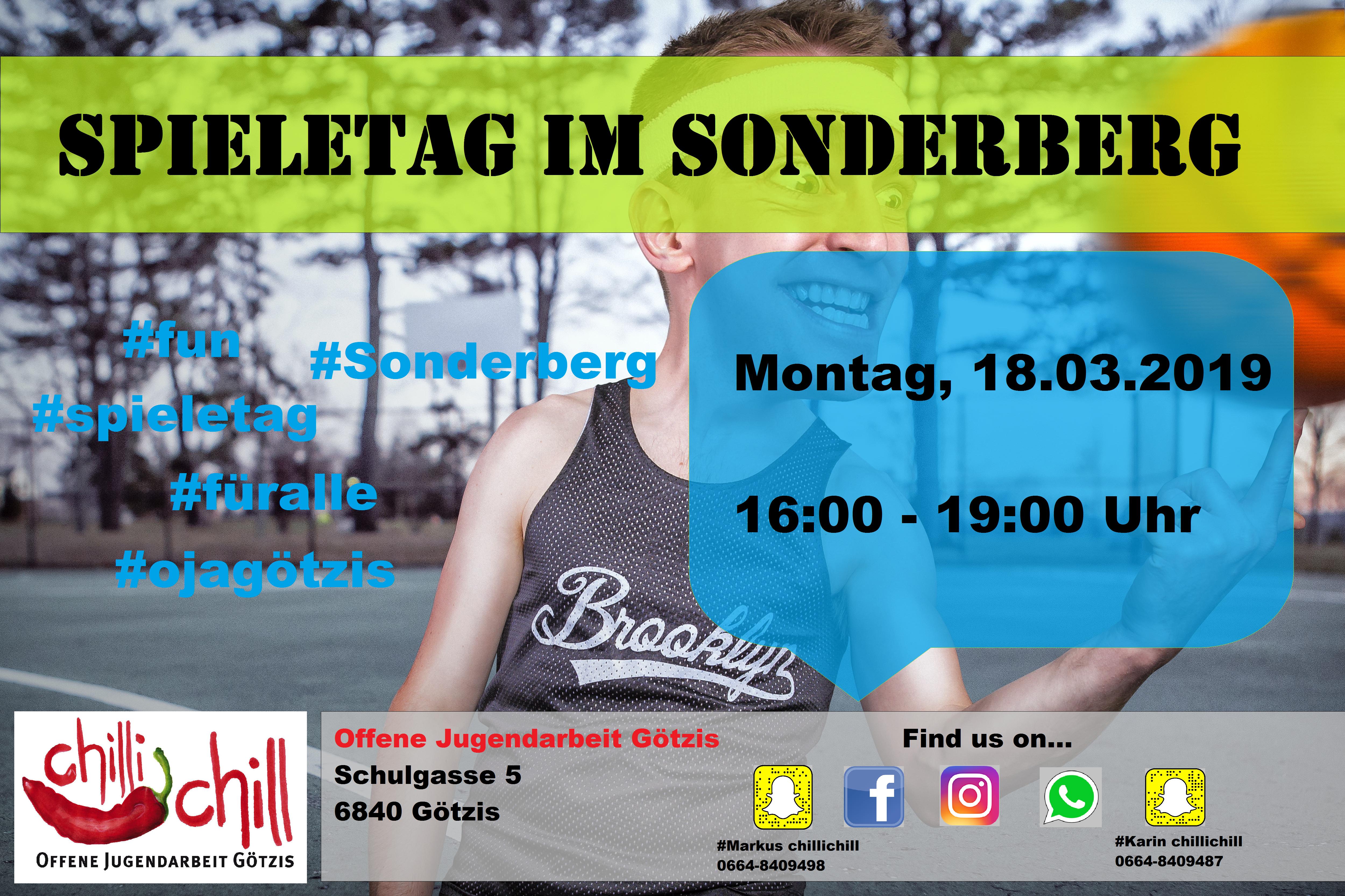 Spieletag im Sonderberg