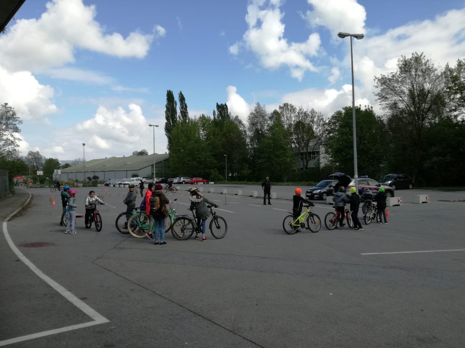 Fahrradprojekt mit der VS-Markt