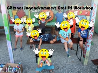 Götzner Jugendsommer: Grafitti Workshop
