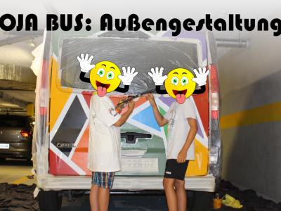 OJA Bus: Außengestaltung