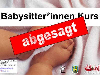 Babysitter:innen Kurs – ABGESAGT